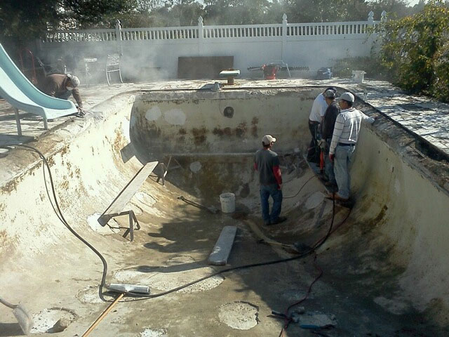 gunite renovations